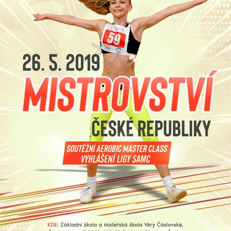 Mistrovství České republiky Sotěžní master class Praha 20. 5. 2018