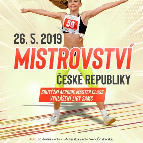Mistrovství České republiky Sotěžní master class Praha 20. 5. 2019